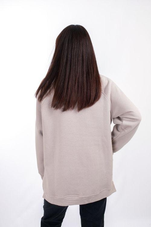 W0004148 Perçem Yanı Fermuarlı Sweatshirt resmi
