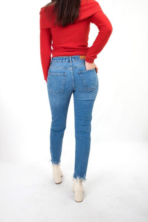 D-318 Perçem Kot Pantolon resmi