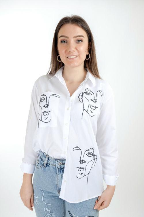 192 Figür İşlemeli Gömlek resmi