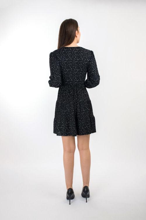 792 Kruvaze Yaka Elbise resmi