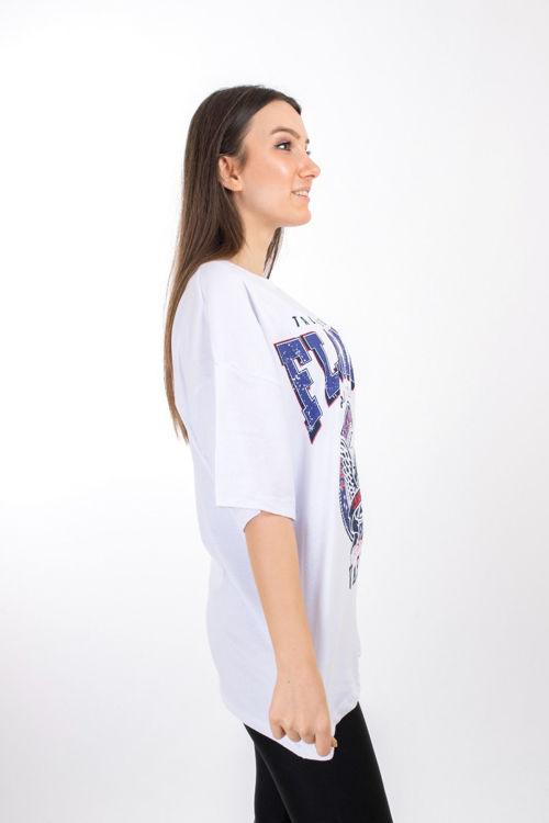 102 Florida Baskılı Tshirt resmi