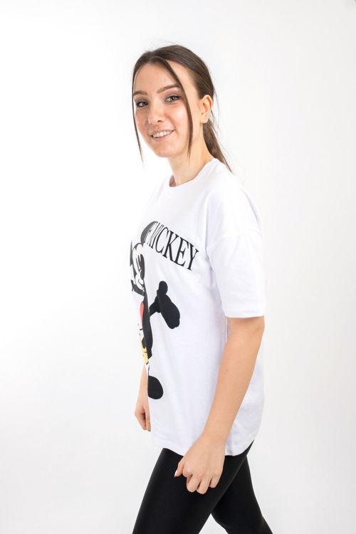 SL0000022 Mickey Mouse Baskılı Tshirt resmi