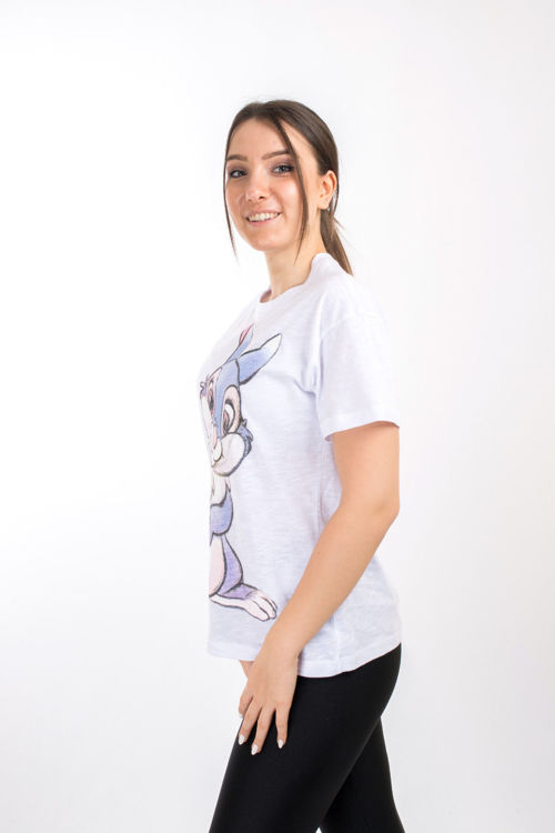 SL00000102 Tavşan Baskılı Tshirt resmi