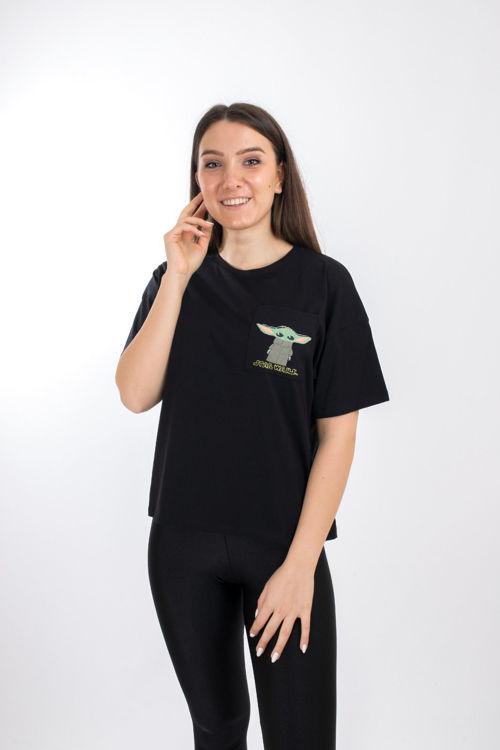 SL0000055 Star Wars Karakter Baskılı Tshirt resmi