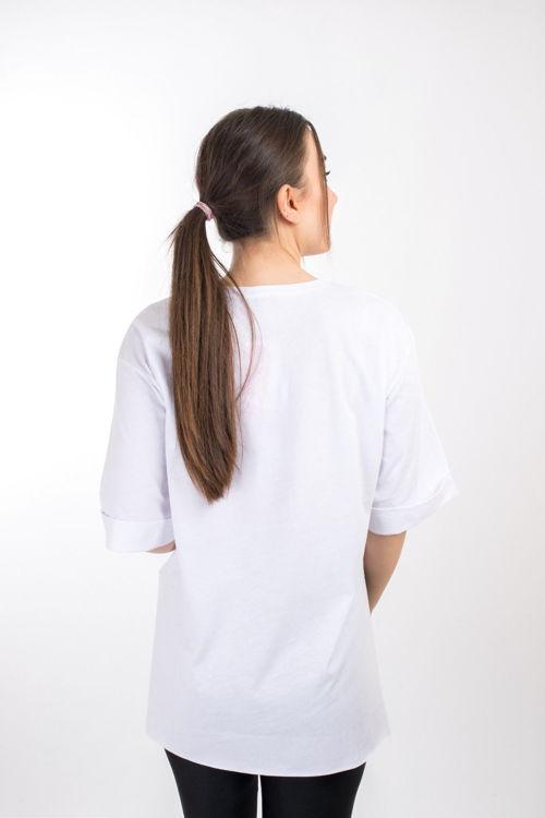S0005426 Baskılı Oversize Tshirt resmi