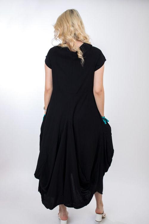 2398 Desenli Şalvar Elbise resmi