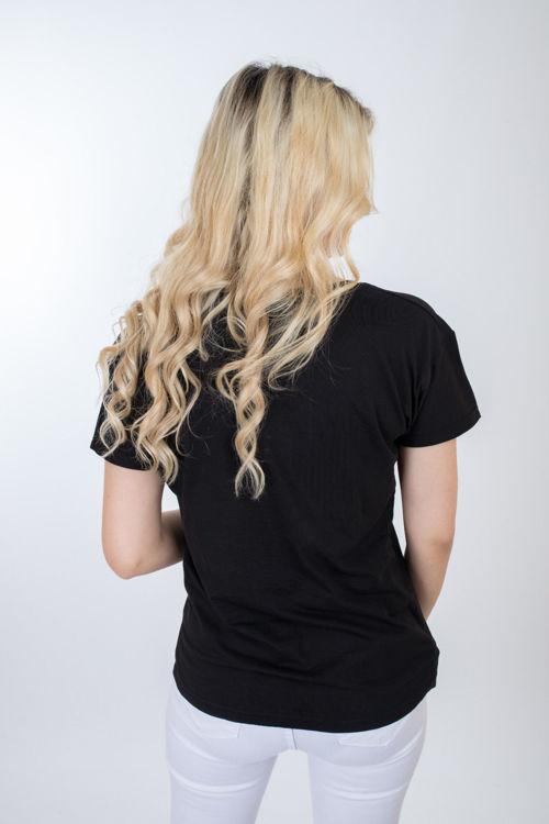 1003 Kaktüs Taş İşlemeli Tshirt resmi
