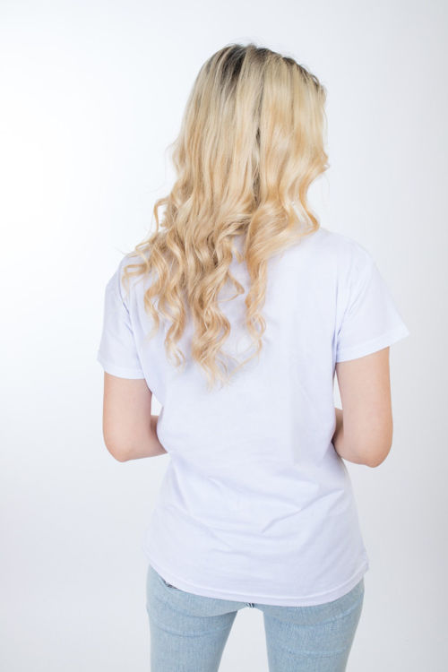 1011 Cep Detay Taş İşlemeli Tshirt resmi