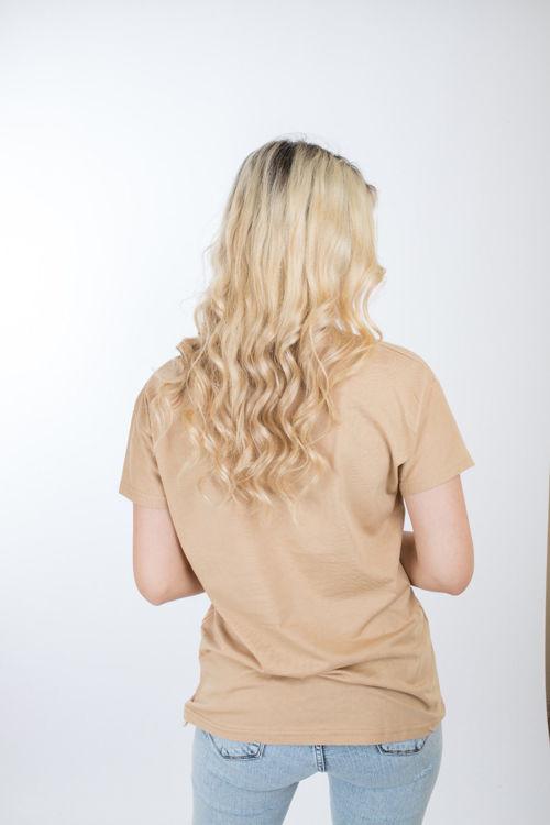 1015 Baskılı V Yaka tshirt resmi
