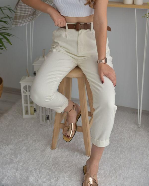 S0008252 Kemer Detay Pantolon resmi