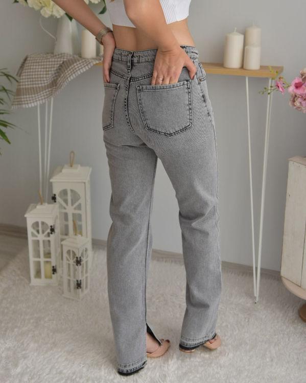 S0007351 Yırtmaç Detaylı Kot Pantolon resmi