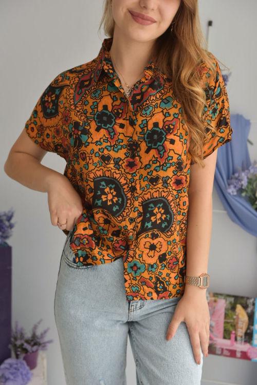 9636 Renkli Gömlek resmi