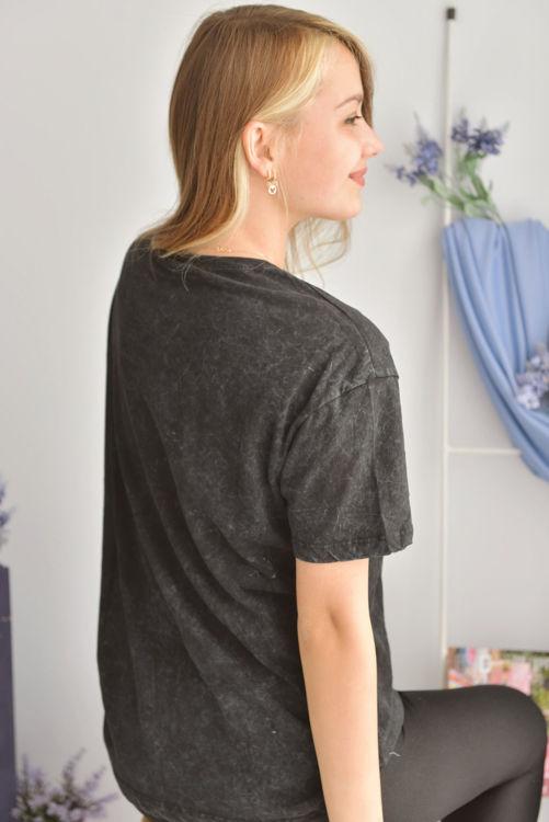 2984 Payet işlemeli Tshirt resmi