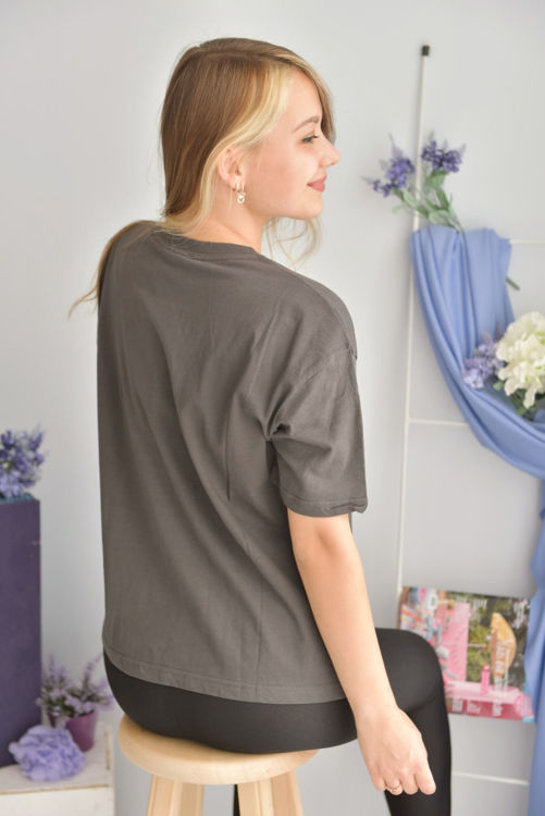 S0007693 Kabartma Baskılı Tshirt resmi