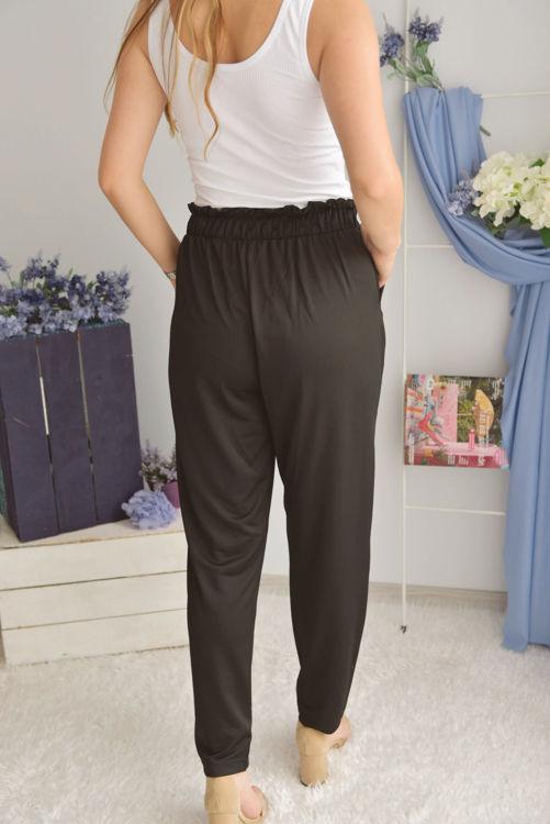 S0006597 Beli Bağlamalı Havuç Pantolon resmi
