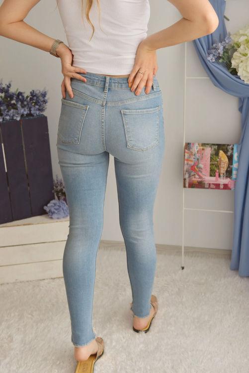 D-051 Yırtık Skinny Jean resmi