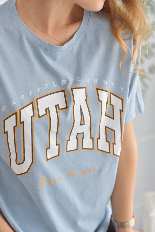 Utah Baskılı Tshirt 2909 resmi