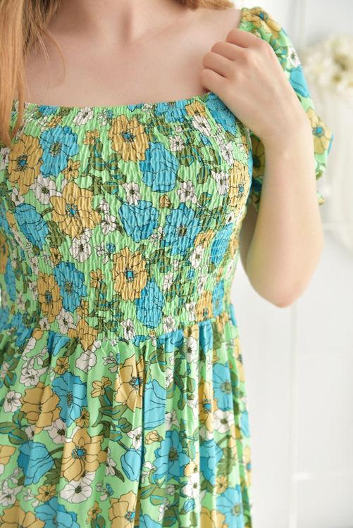 S0008903 Çiçek Desenli Elbise resmi