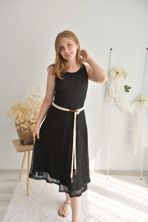 18640 Kolsuz Kemerli Elbise resmi