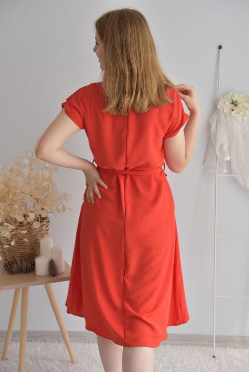 24837 Kemer Detay Salaş Elbise resmi