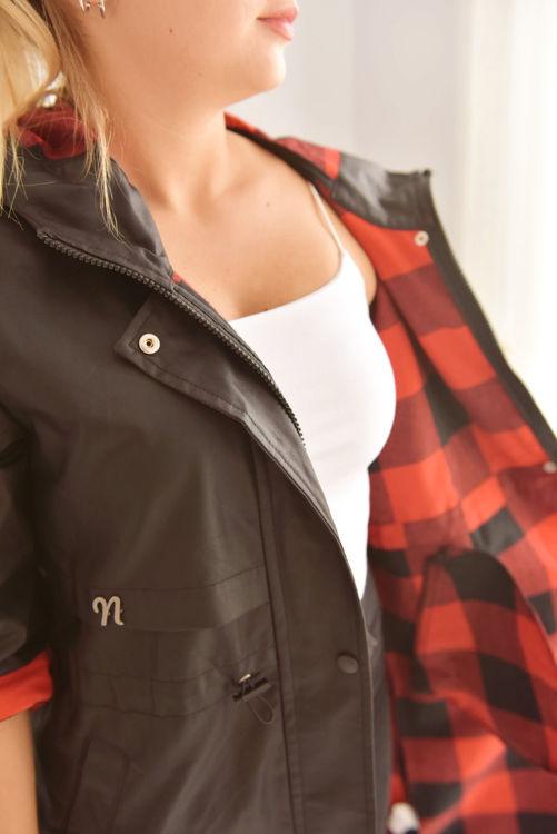 2650 Uzun Kapüşonlu Ceket resmi