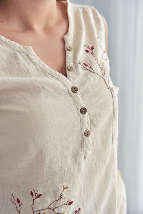 806 Dallı Japone Kol Bluz resmi