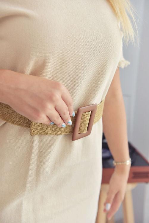 5384-1439 Gabardin Mini Elbise resmi