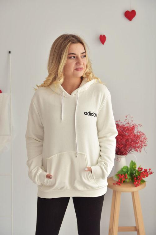 2556 Adidas Baskılı Sweathirt resmi