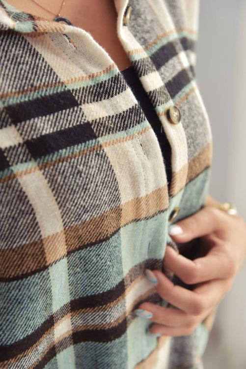 2016 Ekose Desen Oduncu Gömlek resmi