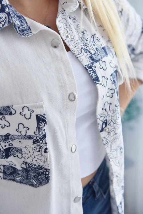 2389 Garnili Kapaklı Gömlek resmi