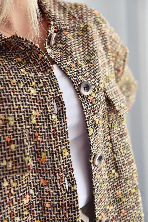 31868 Ekose Desen Gömlek resmi