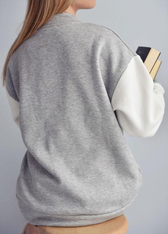 3 Baskılı Kolej Ceket resmi