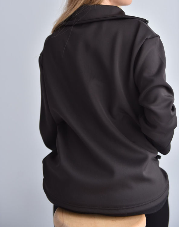 1013 Fermuar Detaylı Sweatshirt resmi